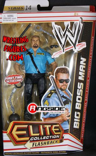 Big Boss Man Wwe Elite 14 Ringside Collectibles