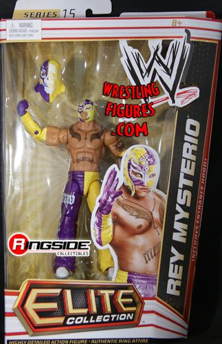 Rey Mysterio Wwe Elite 15 Ringside Collectibles