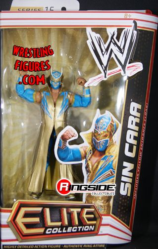 Sin Cara Gold Version Wwe Elite 15 Ringside Collectibles