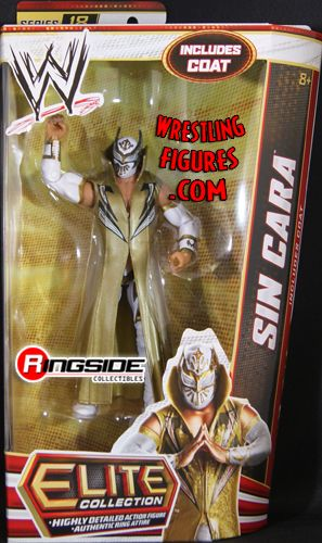 Sin Cara Wwe Elite 18 Ringside Collectibles
