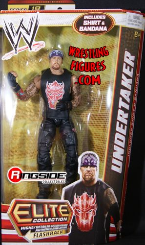 Undertaker Wwe Elite 18 Ringside Collectibles