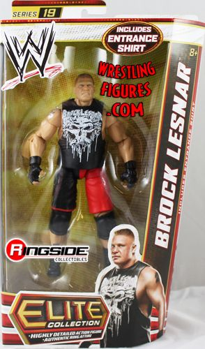 Brock Lesnar Wwe Elite 19 Wwe Toy Wrestling Action Figure