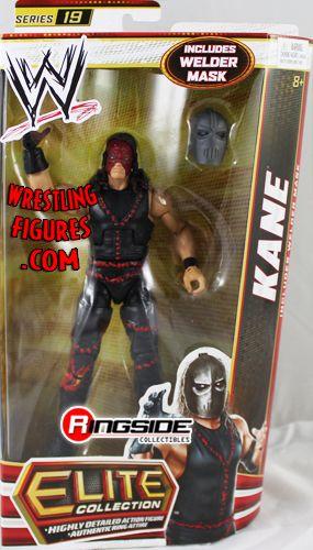 Kane Wwe Elite 19 Ringside Collectibles