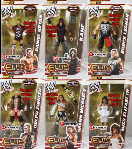 Wwe Elite 19 Complete Set Of 6 Ringside Collectibles