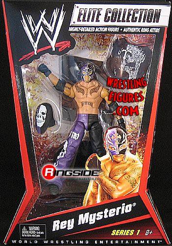 WWE Wrestling Elite Collection Série 69 Rey Mysterio figurine