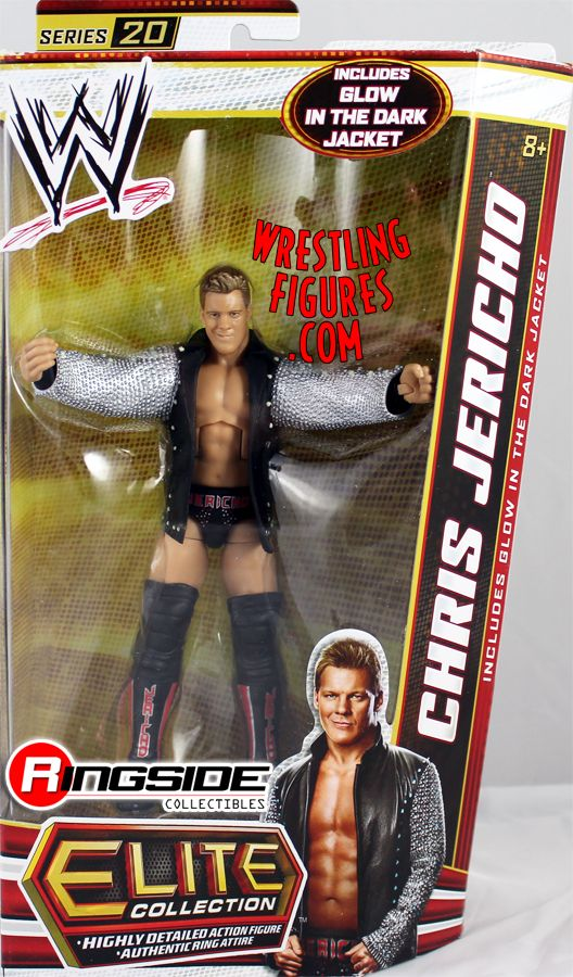 Chris Jericho Wwe Elite 20 Ringside Collectibles