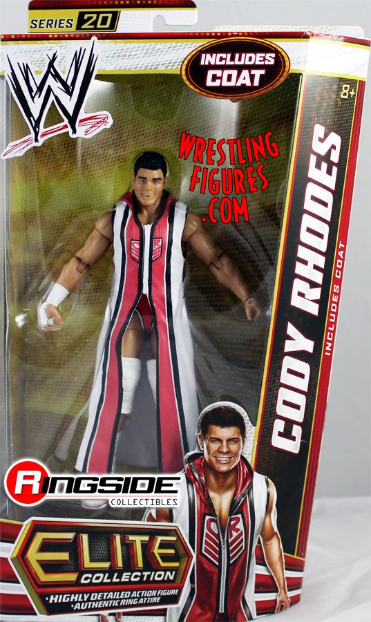 Cody Rhodes Wwe Elite 20 Ringside Collectibles