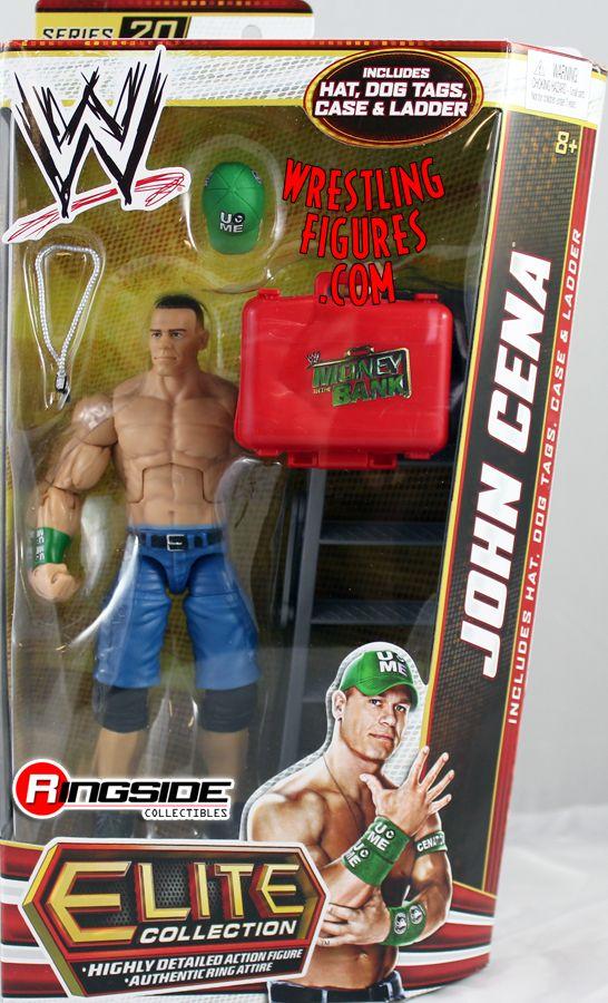John Cena Wwe Elite 20 Ringside Collectibles