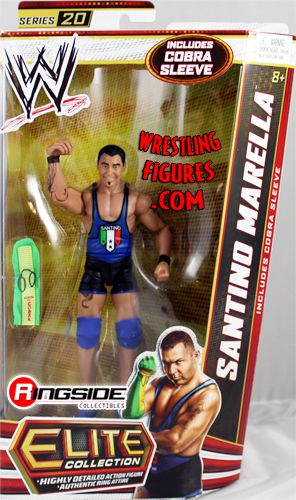 Santino Marella Wwe Elite 20 Ringside Collectibles