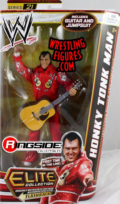 Honky Tonk Man Wwe Elite 21 Ringside Collectibles