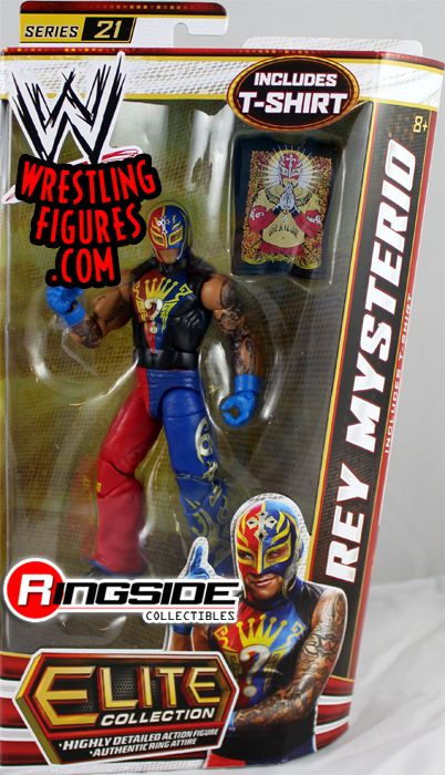 Rey Mysterio Wwe Elite 21 Wwe Toy Wrestling Action Figure