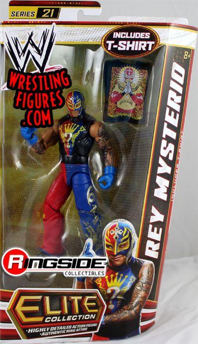 Rey Mysterio Wwe Elite 21 Wwe Toy Wrestling Action Figure