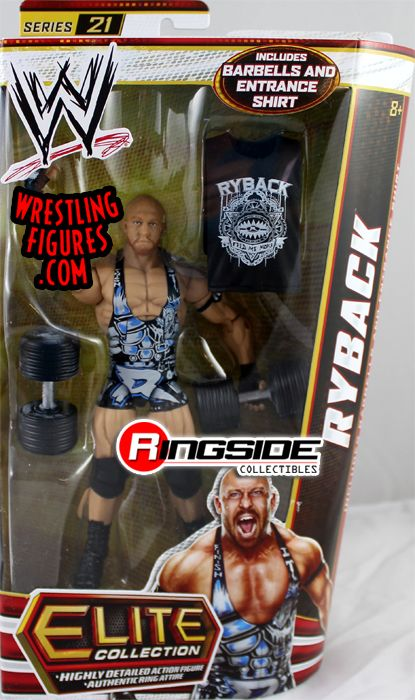 Ryback Wwe Elite 21 Wwe Toy Wrestling Action Figure By Mattel