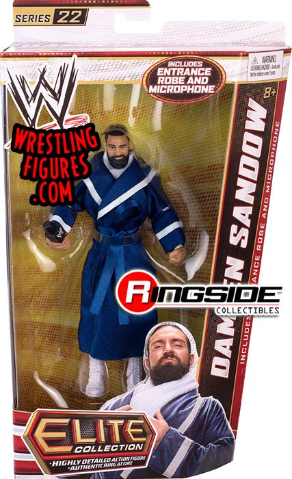 Damien Sandow Wwe Elite 22 Wwe Toy Wrestling Action
