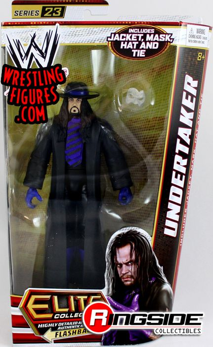 Undertaker Wwe Elite 23 Ringside Collectibles