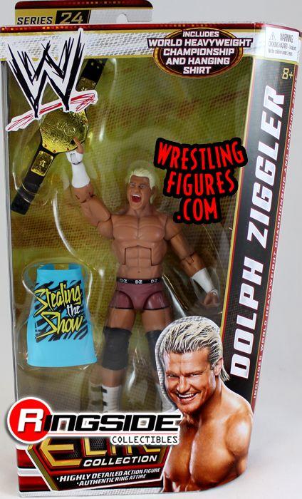 Mattel WWE Elite 24 Dolph Ziggler!