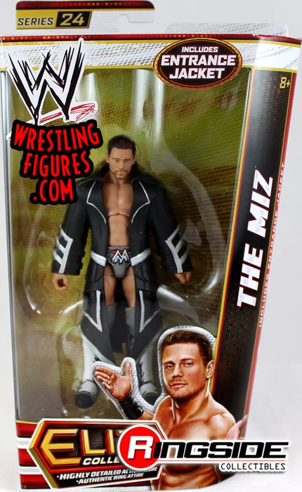 The Miz - WWE Elite 24 | Ringside Collectibles Trish Stratus And Jeff Hardy 03.24.2003