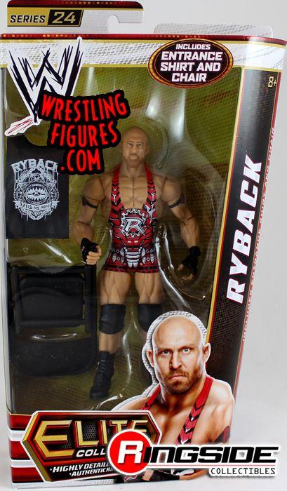 Ryback Wwe Elite 24 Wwe Toy Wrestling Action Figure By Mattel