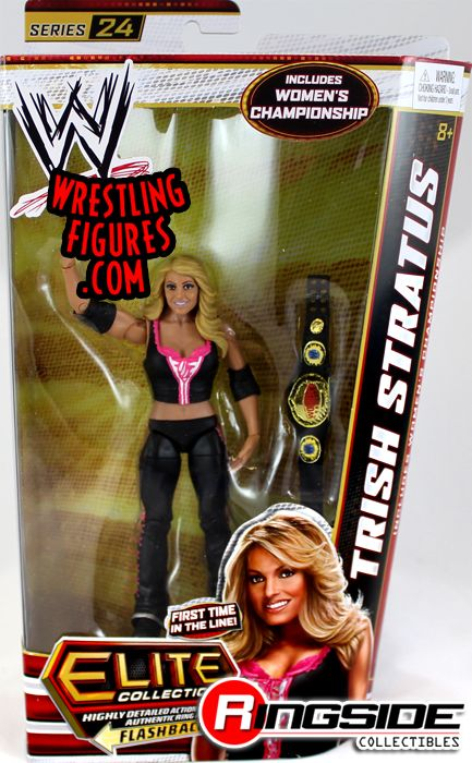 Trish Stratus WWE Mattel Elite Wrestlemania Series Basic Action Figure NEW