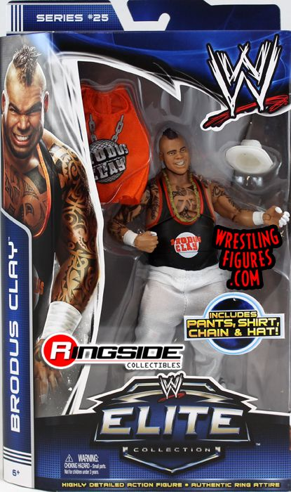 Brodus Clay Wwe Elite 25 Wwe Toy Wrestling Action Figure