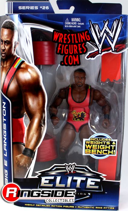 Big E Langston Mattel WWE Elite 26 Figure