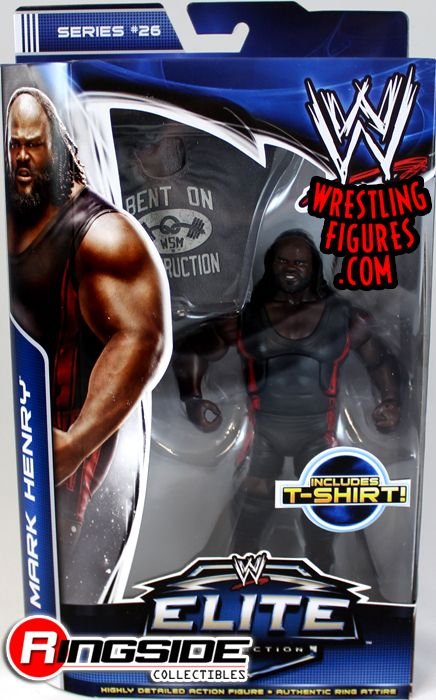 Mark Henry Mattel WWE Elite 26 Figure