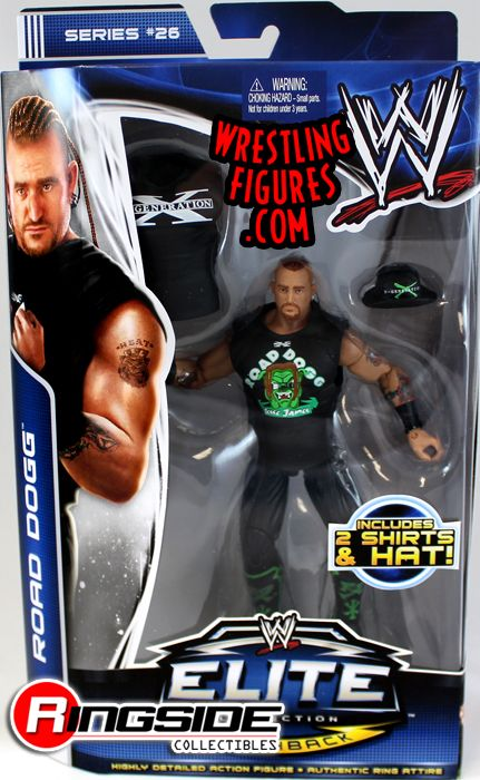 Road Dogg Wwe Elite 26 Ringside Collectibles