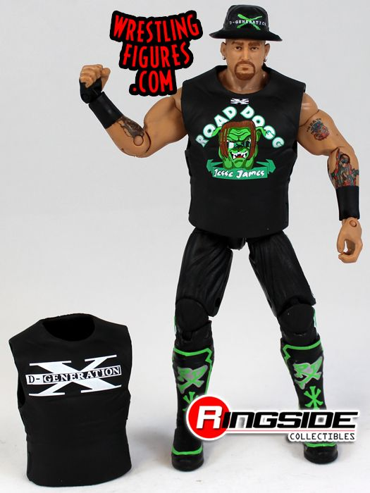 Mattel WWE Elite 26 Road Dogg Jesse James!