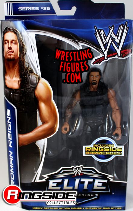 Roman Reigns Wwe Elite 26 Ringside Collectibles