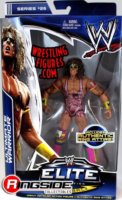 Ultimate Warrior Mattel WWE Elite 26 Figure