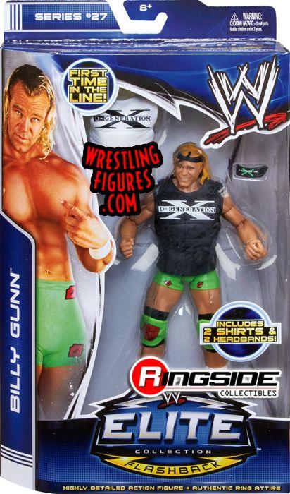 Billy Gunn Wwe Elite 27 Wwe Toy Wrestling Action Figure