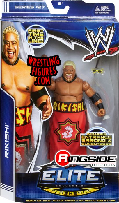 Rikishi Wwe Elite 27 Variant Wearing Gear Ringside