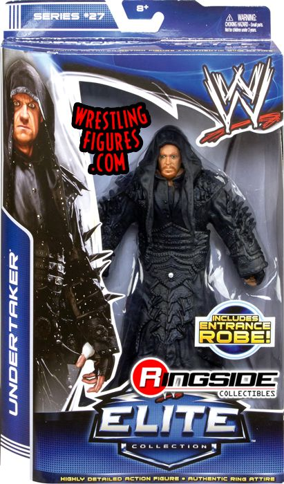 Undertaker Wwe Elite 27 Ringside Collectibles