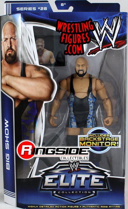 Big Show Wwe Elite 28 Ringside Collectibles