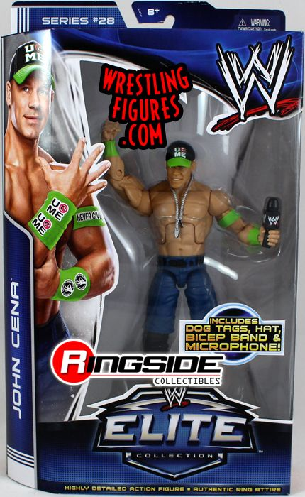 John Cena Wwe Elite 28 Wwe Toy Wrestling Action Figure