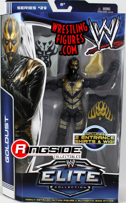 Goldust Wwe Elite 29 Wwe Toy Wrestling Action Figure By