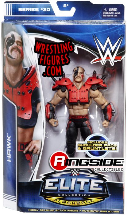 Road Warrior Hawk Wwe Elite 30 Ringside Collectibles