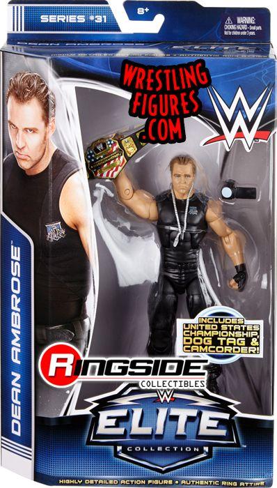 Dean Ambrose Wwe Elite 31 Ringside Collectibles