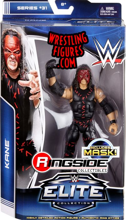 Kane Wwe Elite 31 Wwe Toy Wrestling Action Figure By Mattel