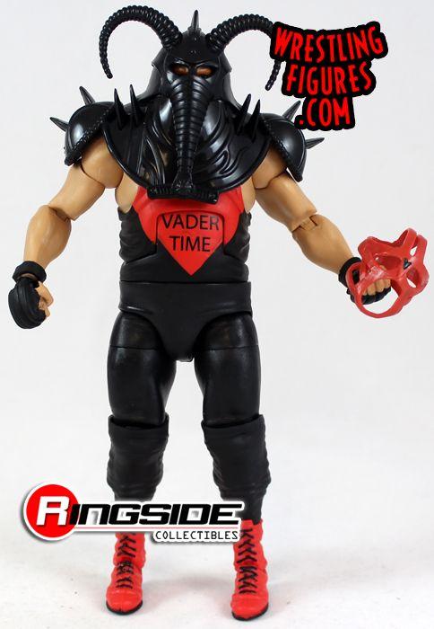 Details about  /WWE Mattel Elite 31 Big Van Vader Figure With Helmet /& Mask Flashback WCW MIB