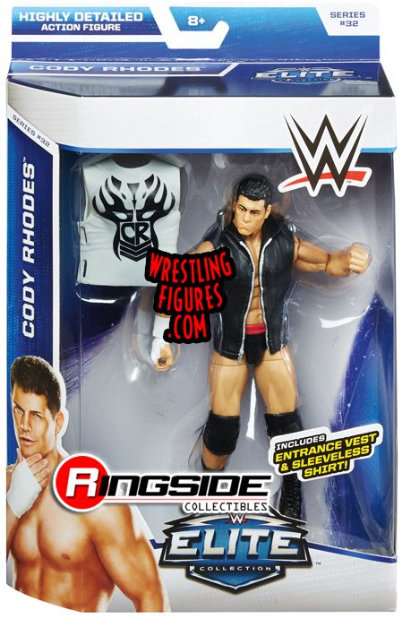 Cody Rhodes Wwe Elite 32 Wwe Toy Wrestling Action Figure