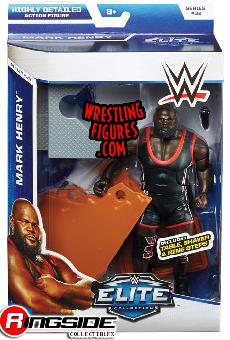 Mark Henry Wwe Elite 32 Ringside Collectibles