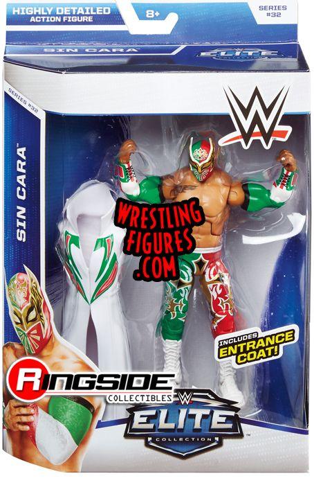 Sin Cara Wwe Elite 32 Wwe Toy Wrestling Action Figure By