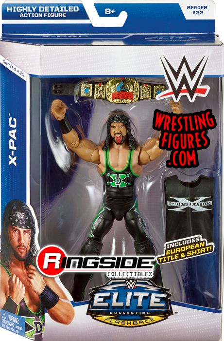 X-Pac - WWE Elite 33 WWE Toy Wrestling Action Figure by Mattel