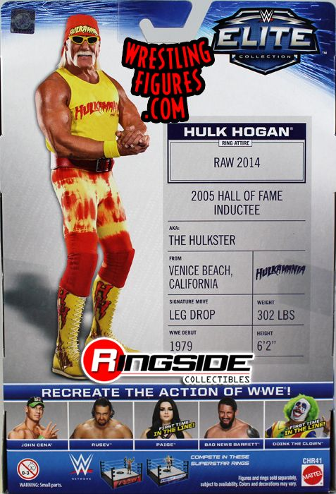 hulk hogan elite action figure