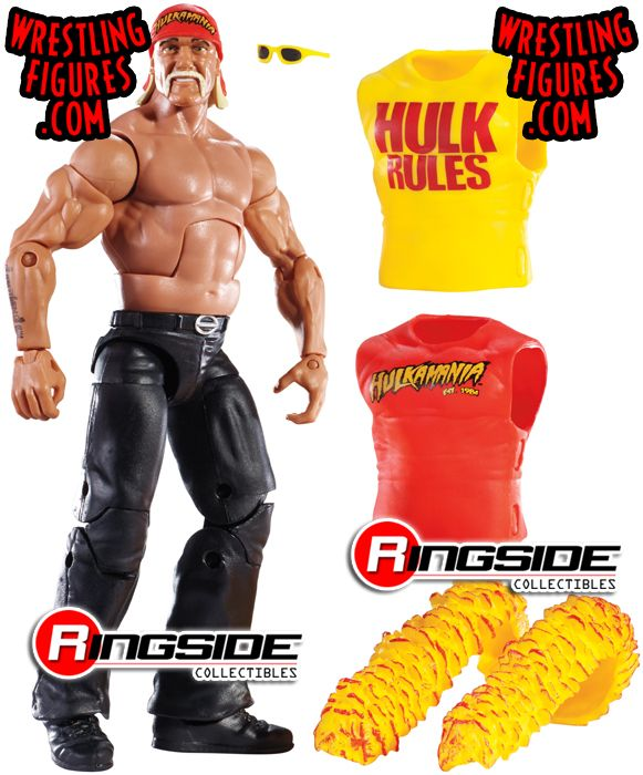 wwe hulk hogan action figure