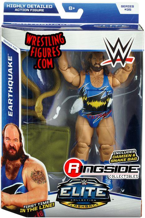 Earthquake - WWE Elite 35 WWE Toy Wrestling Action Figure by Mattel