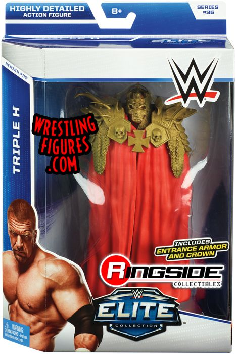 WWE Elite Series 35 Triple H HHH Wrestling Action Figure