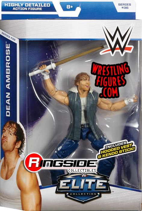 Dean Ambrose Wwe Elite 36 Wwe Toy Wrestling Action