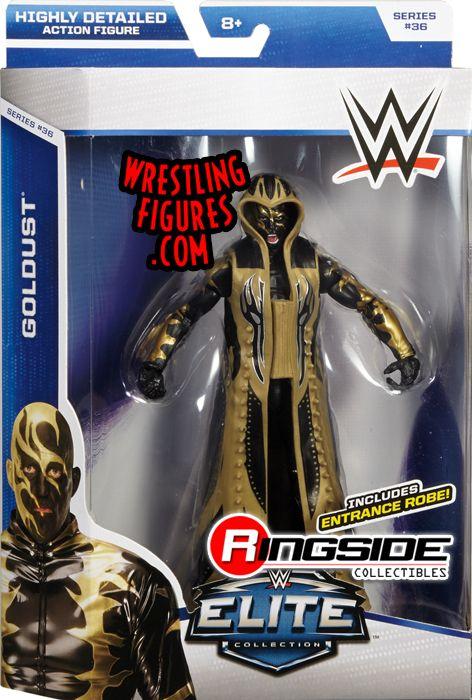 Goldust Wwe Elite 36 Wwe Toy Wrestling Action Figure By